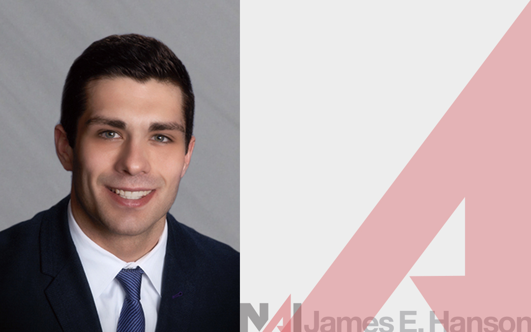 NAI James E. Hanson Welcomes Michael Guerra as Sales Associate
