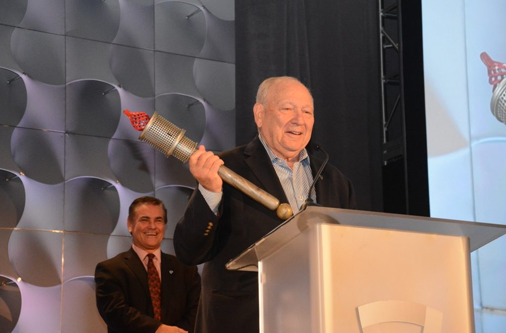 NAI Hanson's Peter Hanson Receives Society of Industrial and Office Realtors' Diamond Anniversary Torch