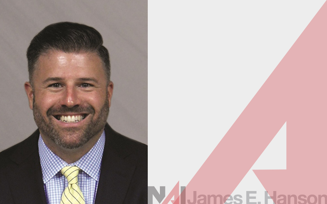 NAI James E. Hanson Welcomes John C. Sawyer as Sales Associate