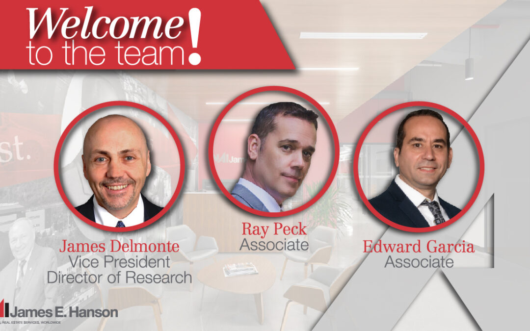 NAI James E. Hanson Expands Team with Additions of Industry Veterans