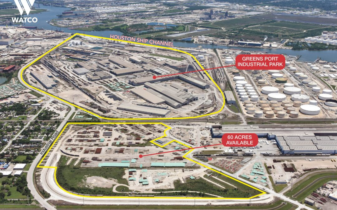 NAI Hanson and NAI Partners Tapped to Market 60-Acre Multimodal Industrial Property Along Houston Ship Channel